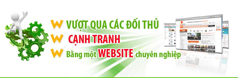 Thiết kế web chuyên nghiệp chuẩn seo ưu đãi nhất