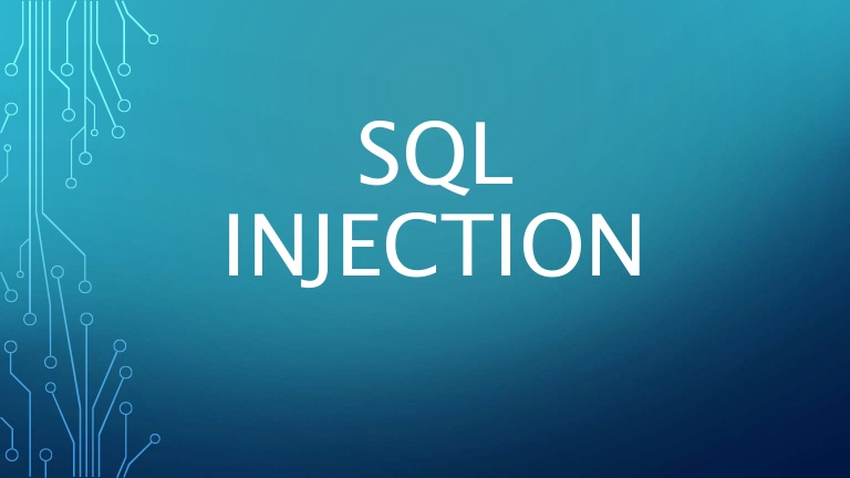 Secure website and what is sql injection